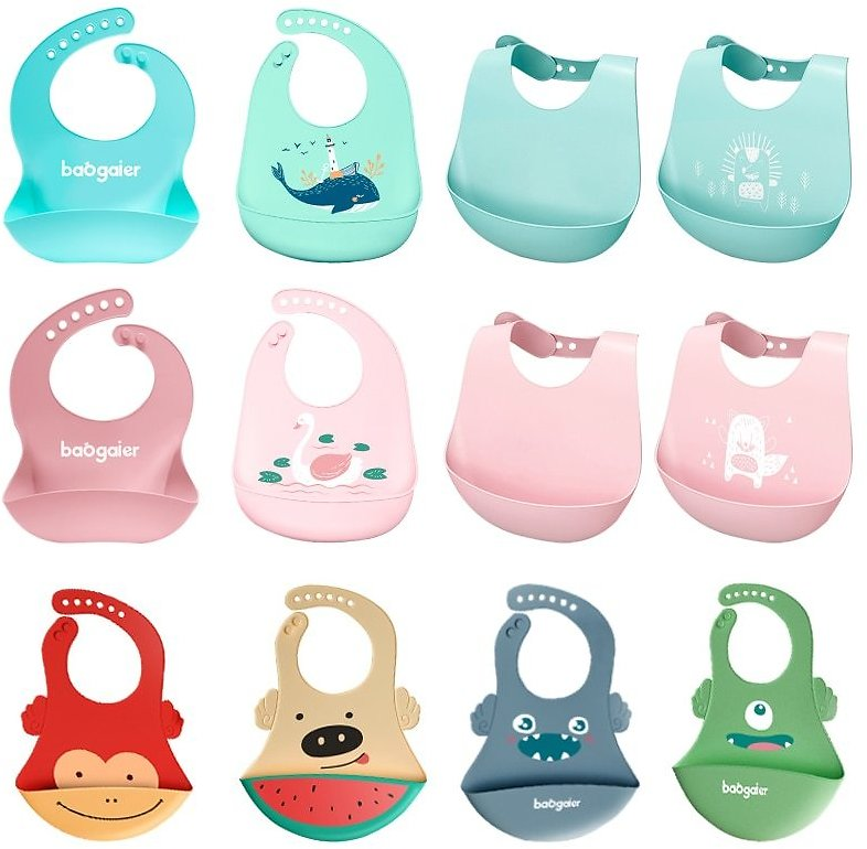 US $1.5 40% OFF|Baby Bibs Waterproof Silicone Feeding Baby Saliva Towel Newborn Cartoon Aprons Baby Bibs Adjustable Different Styles of Bibs|Bibs & Burp Cloths| - AliExpress