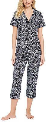 Charter Club Printed Capri Pants Pajama Set (Mult. Colors)
