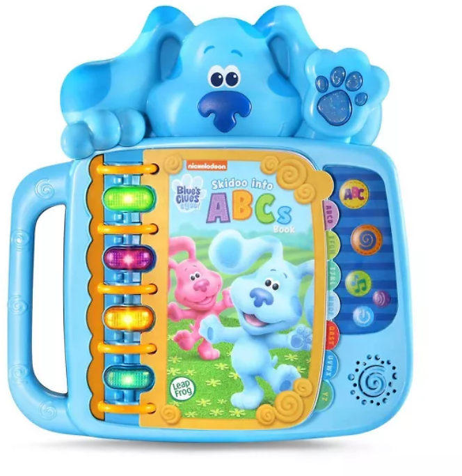 LeapFrog Blues Clues & You! Skidoo Into ABCs Book