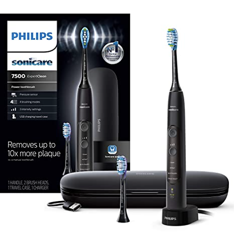 Philips Sonicare ExpertClean 7500 Bluetooth Rechargeable Electric Toothbrush