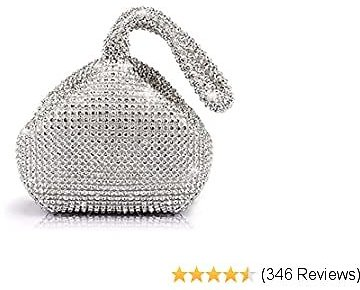 Jian Ya Na Fashion Women Bridesmaid Lady Girl Bride Evening Clutch Bag for Prom Cocktail Party Wedding Engagement
