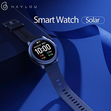Haylou Solar LS05 Full Round Screen Wristband 12 Sport Modes Tracker Heart Rate