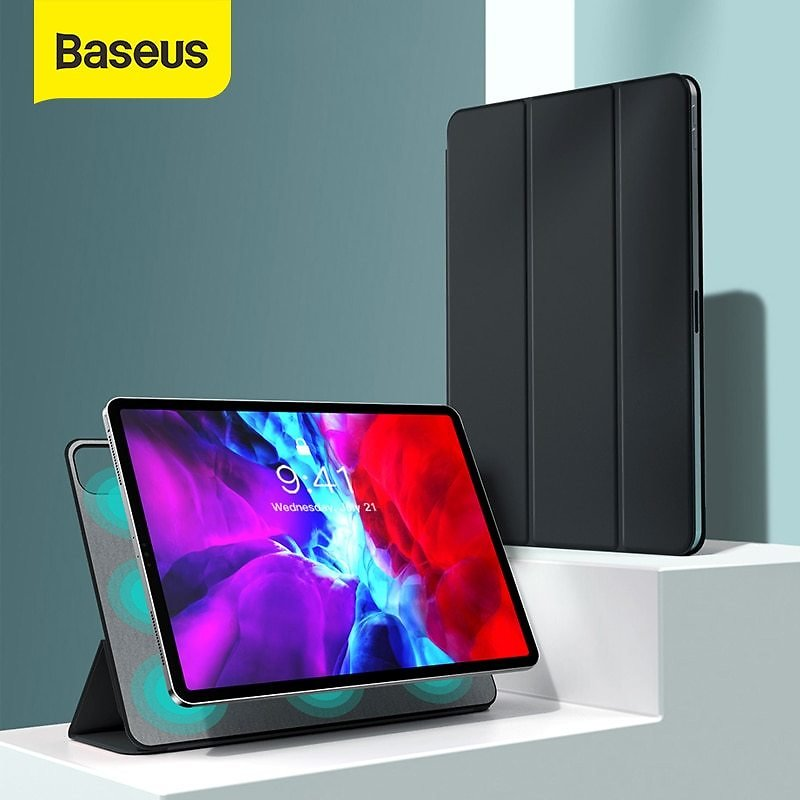 US $18.08 44% OFF|Baseus Luxury Case for IPad Pro 12.9 11 2020 Coque Back Stand with Auto Sleep Wake Up PU Leather Smart Cover for IPad Pro Fundas|Tablets & E-Books Case| - AliExpress