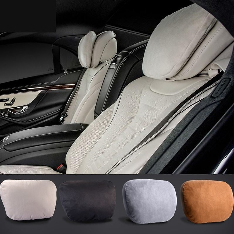 US $10.44 63% OFF|Maybach Design S Class Ultra Soft Natrual Car Headrest Neck Seat Cushion Headrest Covers For Mercedes Benz BMW Audi Toyota Honda|cushion Headrest|car Headrestheadrest Cover - AliExpress