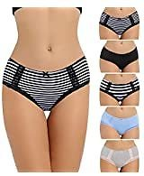 Reebok Womens Seamless Hipster Panties 5-Pack: Clothing