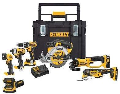 DEWALT - 10% Off or More - Power Tool Combo Kits - Power Tools