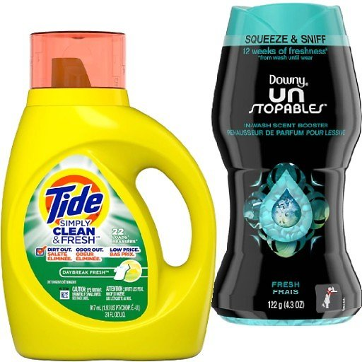 $1.95 Tide, Downy, & Bounce Detergent