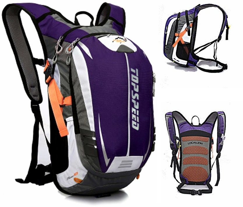 US $17.49 30% OFF 18L Waterproof Running Backpack with 2L Water Bag Men's Women MTB Bike Breathable Sports Bag Hydration Cycling Bags Backpack Gym Bags  - AliExpress