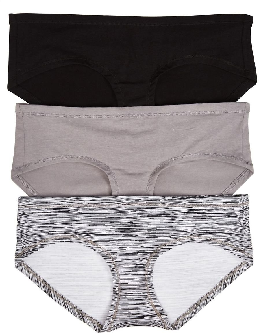 Maternity Hipster Panties (3 Pack)