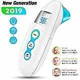 Baby Thermometer, AERZETIX 5-in-1 Medical Forehead and Ear Thermometers
