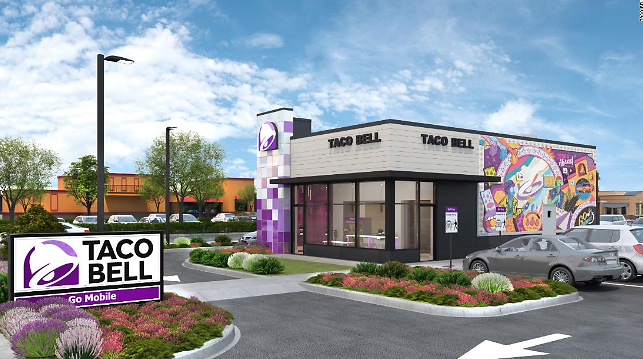 Here's What The Taco Bell of The Future Will Look Like