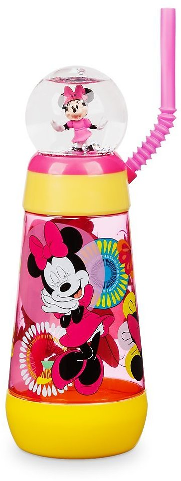 Minnie Mouse Snowglobe Tumbler with Straw | ShopDisney