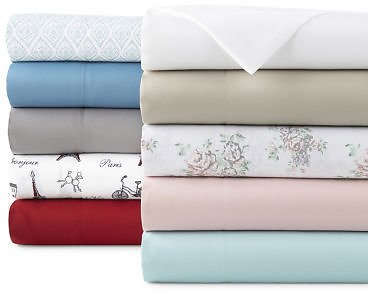 Home Expressions Microfiber Plus Ultra Soft Wrinkle Resistant Sheet Set