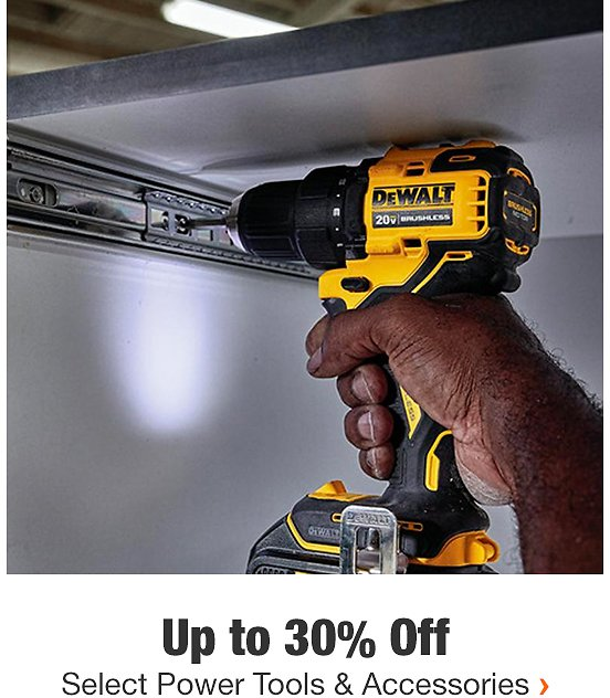 Save Up To 58% Off Select Power Tools & Accessories Through 8/26