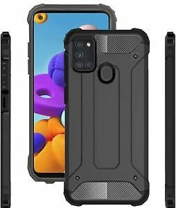For Samsung Galaxy A21s Case Hard Armour Cover Shockproof Heavy Duty Rugged