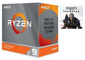 (16% Off) AMD Ryzen 9 3900X w/ LED Cooler + Assassan's Creed Valhalla