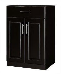 50% OFF Base Cabinet Wood Closet System with Drawer in Espresso-THD339414.2a
