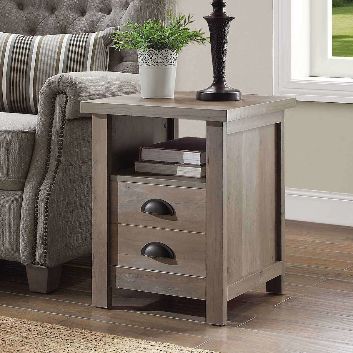 Better Homes and Gardens Granary Modern Farmhouse End Table