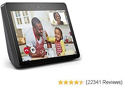 "Echo Show - Premium 10.1"" HD Smart Display with Alexa – Stay Connected with Video Calling - Charcoal"