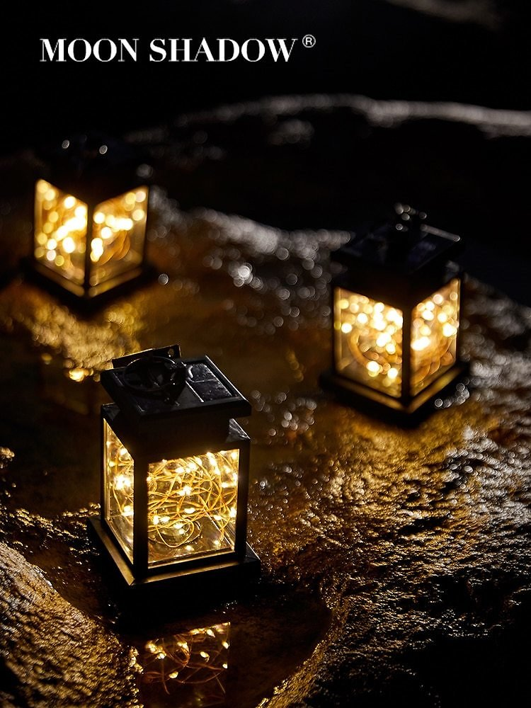 US $8.28 77% OFF|MOONSHADOW Solar Lamp Square Solar Garden Lights for Outdoor Square Fairy Lights for Party Balcony|Solar Lamps| - AliExpress