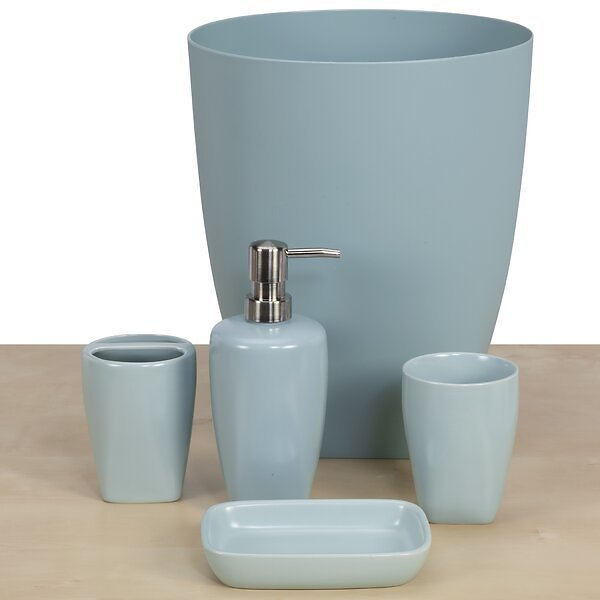 5 Piece Bathroom Accessory Set