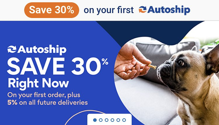 Save 30% OFF On First Autoship!!!! Chewy!! Pet Food, Toys and