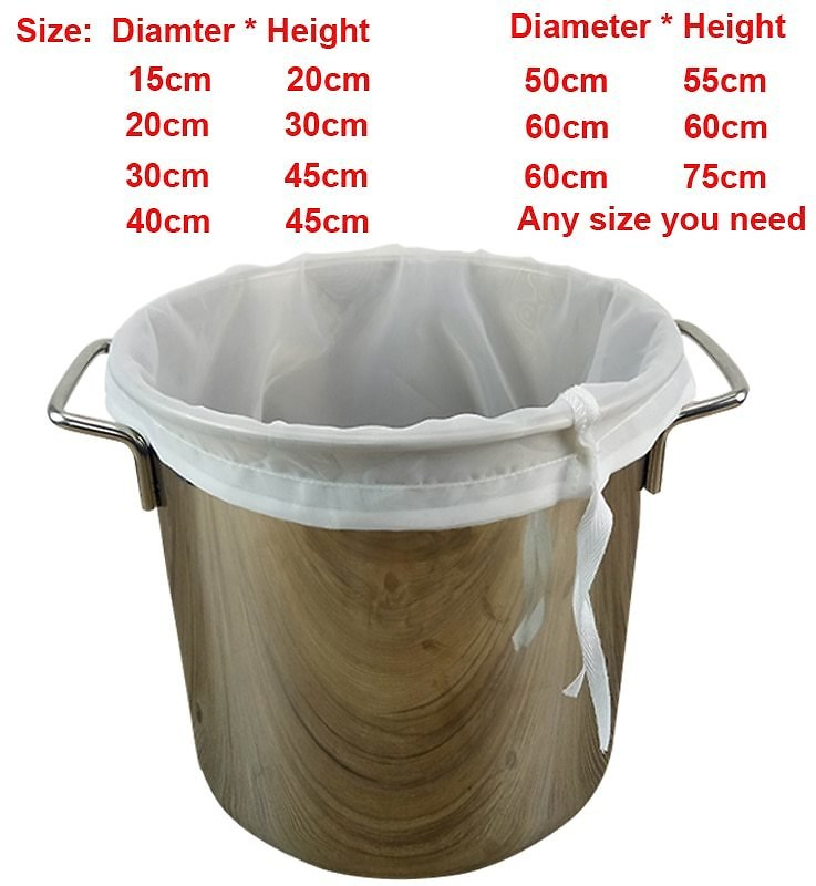US $3.1 |Beer Homebrew Filter Bag for Brewing Malt Boiling Wort Mash Strainer Tool Free Shipping|Beer Brewing| - AliExpress