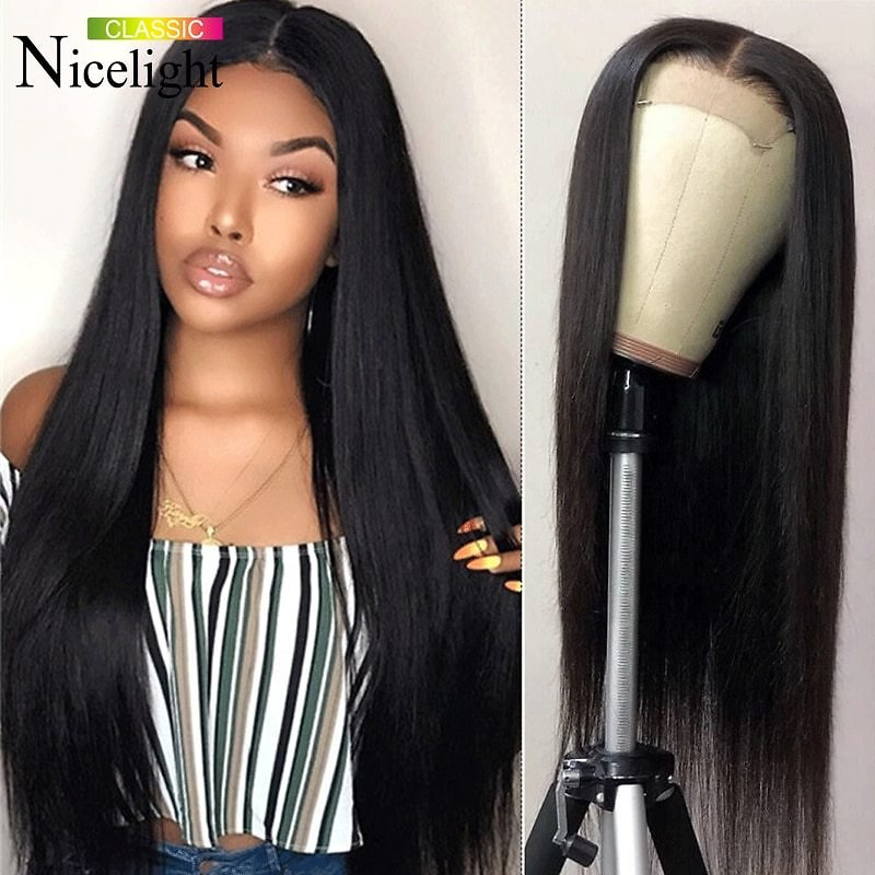 6x6 Lace Closure Wig Straight Lace Front Human Hair Wigs Pre Plucked Brazilian Remy 4x4 Closure Wigs Glueless Lace Wig