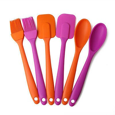 Kitchen Utensil Silicone Spatula Cooking Baking Cake Jelly Butter Mixing Tools