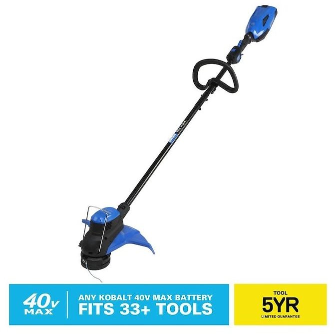 Kobalt 40-Volt Max 15-in Straight Cordless String Trimmer (Bare Tool Only) Lowes.com