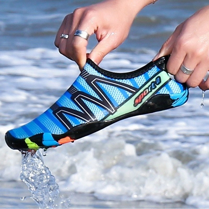 US $8.31 50% OFF|Men Women Aqua Shoes Sneakers Quick Dry Swimming Footwear Unisex Outdoor Breathable Upstream Beach Shoes|Upstream Shoes| - AliExpress