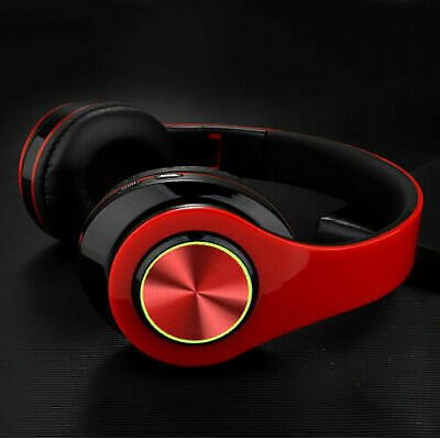 LED Wireless 3.5mm Gaming Headset Headphones Stereo With Mic For PC PS4 Xbox ONE