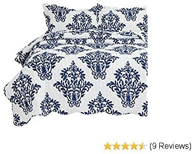 Bedsure 2-Piece Reversible Quilt Set - 70% OFF