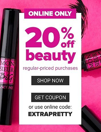 Belk   20% Off Beauty Purchases + Extra 10% Off