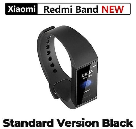 Xiaomi Redmi Band 4 Smart Heart Rate Tracker Waterproof Bracelet Touch Large Color Screen Wristband