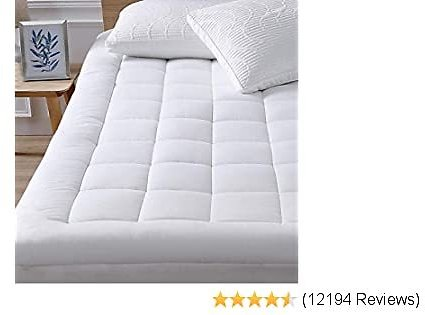 Oaskys King Mattress Pad Cover Cooling Mattress Topper Cotton Top Pillow 2020