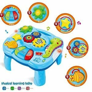Table Baby Toys Light Music Sea Animal Learning Kits Game Toddlers Infants Funny