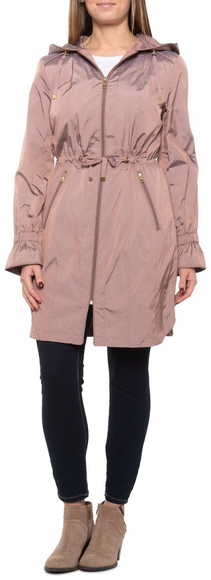 Cole Haan Quilt-Lined Travel Rain Jacket (For Women)