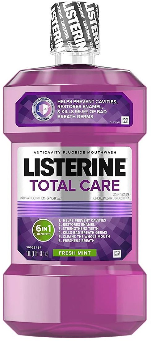 Listerine Total Care Anticavity Fluoride Mouthwash