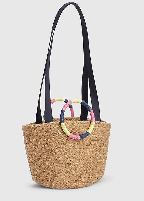 Mini Jute Tote Bag | Gap....b