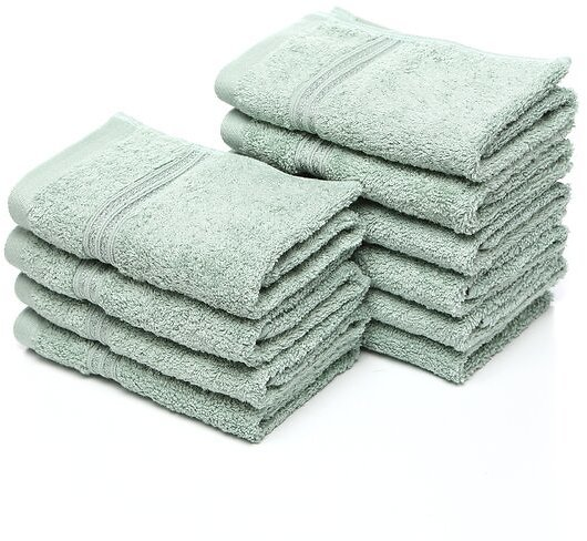 Up to 37% Off | Patric 10 Piece Egyptian-Quality Cotton Washcloth Towel Set