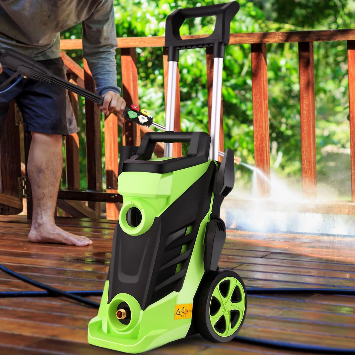 92% OFF ( FREE GIFT) 3500PSI Electric Pressure Washer