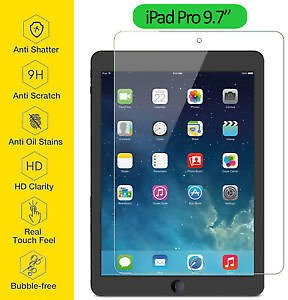 Tempered Glass Film Screen Protector Ultra Thin Clear For Apple IPad Pro 9.7