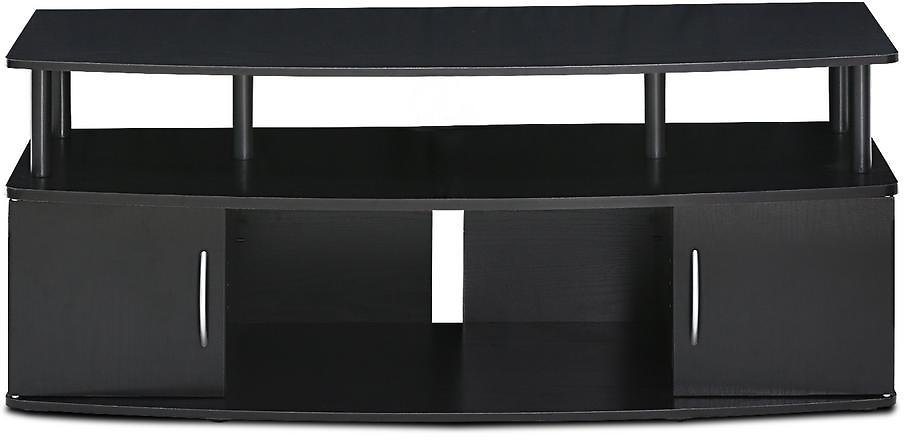 Furinno Jaya 47 In. Blackwood Particle Board TV Stand