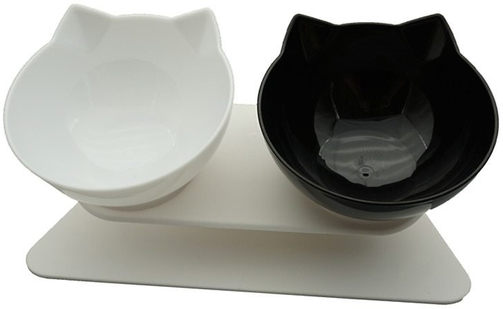 US $6.57 34% OFF|Non Slip Double Cat Bowl Dog Bowl With Stand Pet Feeding Cat Water Bowl For Cats Food Pet Bowls For Dogs Feeder Product Supplies|Dog Feeding| - AliExpress