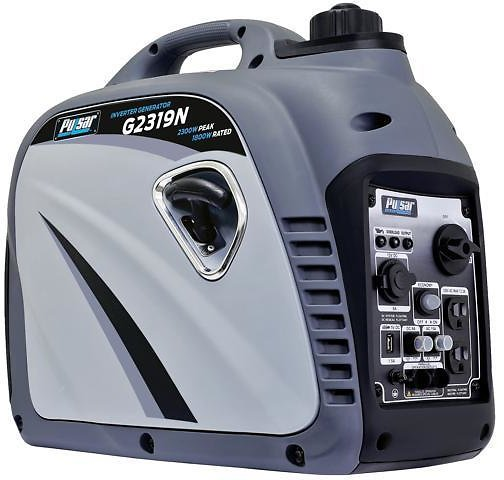 2,300W Portable Gas-Powered Inverter Generator with USB Outlet & Parallel Capability, CARB Compliant, Gray - Newegg.com