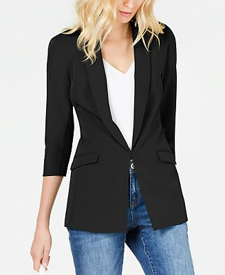 INC International Concepts INC Menswear Blazer, Created for Macy's & Reviews - Jackets & Blazers - Women