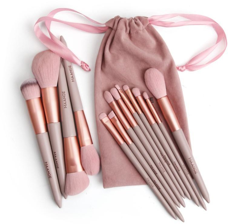 US $3.09 35% OFF|MAANGE 13pcs/set Makeup Brushes Cosmetics Tools Women Gift Including Bags Eye Shadow Foundation Powder Eyeliner Eyelash Brushes|Eye Shadow Applicator| - AliExpress