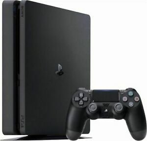 Details About Sony PlayStation 4 Slim 1TB Console - Jet Black