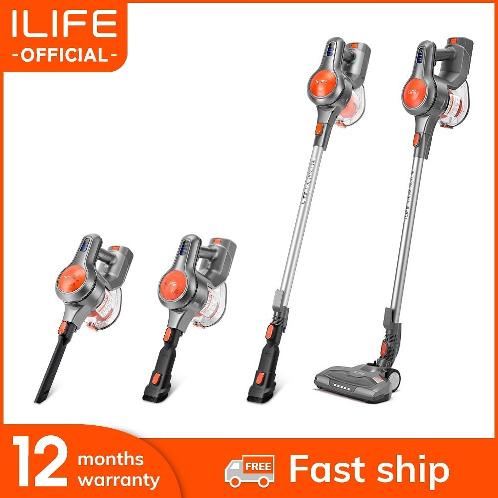Handheld Vacuum Cleaner 21000Pa Strong Suction Power Hand Stick Cordless Stick Aspirator 1.2L Big Dustbin